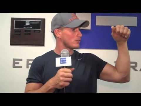 "Brendan Fehr ""The Iceman"" Gym"