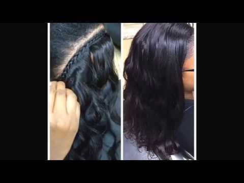 Crochet Braids No Knot Method : Braid in bundles no sew no crochet no glue