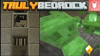 Truly Bedrock SMP: Episode 2 - Skeleton Farm & Slime