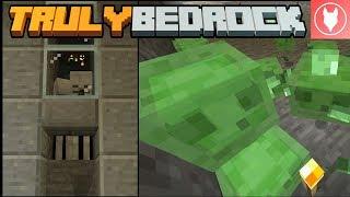 Truly Bedrock SMP: Episode 2 - Skeleton Farm & Slime