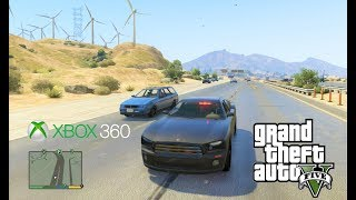 Grand Theft Auto V (Xbox 360) Fŗee Roam Gameplay #6 [1080p]