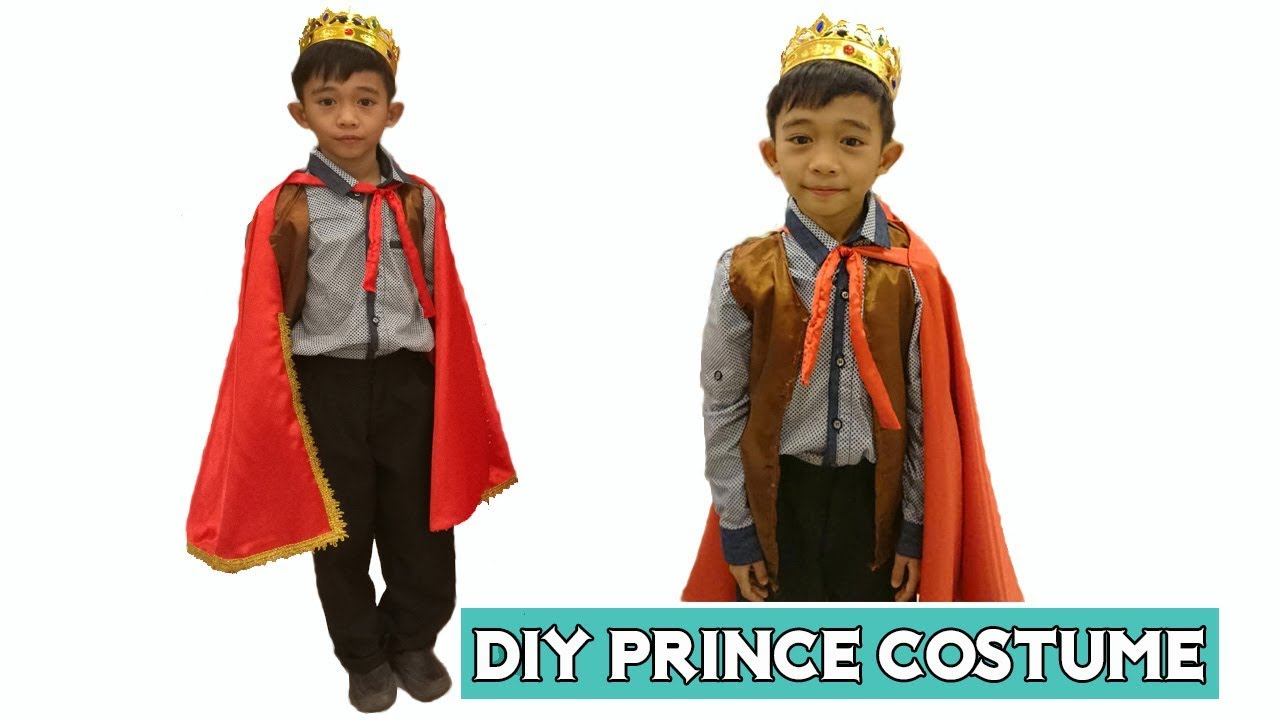 Diy Prince Costume Cape And Blazer