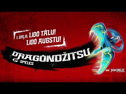 LEGO NINJAGO Dragondžitsu Spēles: Lido Tālu, Lido Augstu