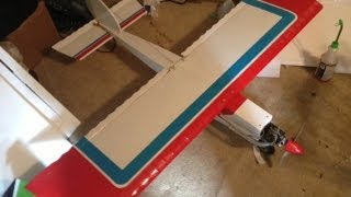 Great Planes Big Stick 60 First Run After Several Years Of Sitting - Arcola Rc
