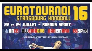 France vs Danemark Handball EuroTournoi 2016