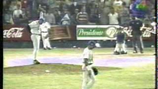 9no Inning Juego #6 Final 1997-1998 Aguilas Vs Licey parte 2