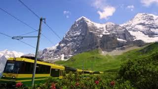 صلى عليك الله يا خير الورى  ..مع أجمل المناظر الطبيعية من سويسرا