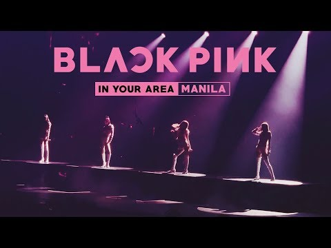 BLACKPINK (블랙핑크) In Your Area Manila | EXTREME FANGIRLING!!! 😱🙈💗✨