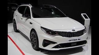 видео Киа Оптима 2019 в новом кузове  (рестайлинг)