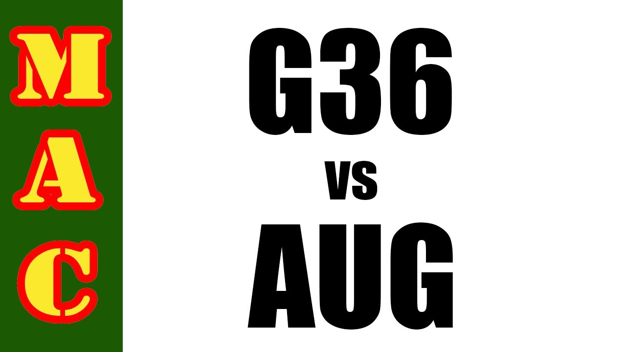 Best Infantry Rifle: G36 vs AUG