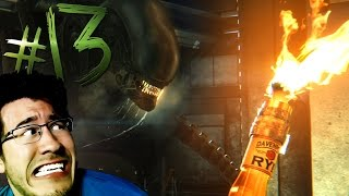 DIE! DIE! DIE IN A FIRE!! | Alien Isolation - Part 13