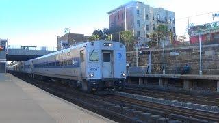 Metro North Morning Rush Hour Railfanning at Tremont (Read Desc)