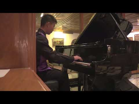 Chetham's School of Music audition Video 1 / Chopin Etude Op10 No5