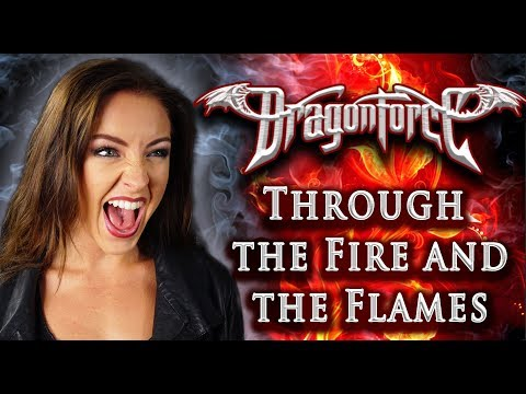Dragonforce - Through The Fire and The Flames 🔥 (Cover by Minniva feat. Mr Jumbo)