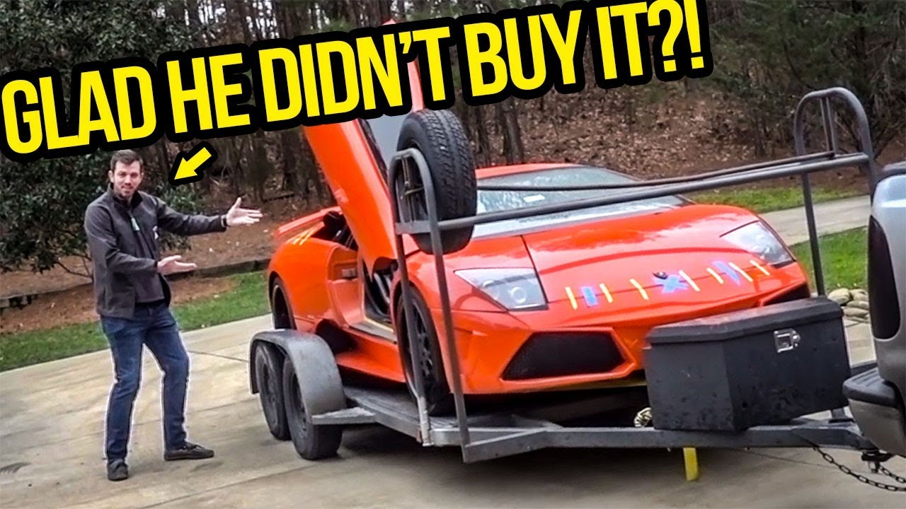 I Showed My Fast Furious Lamborghini To The Guy That Wanted To Buy It Before I Did But Didnt