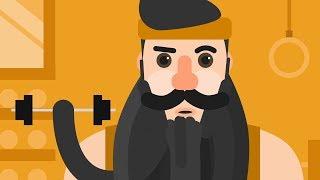 Bearded Gospel Men Book Trailer