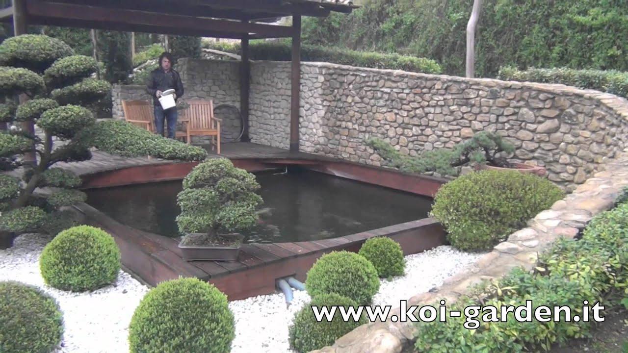 Costruzione laghetto koi garden italia realizza il for Laghetto koi