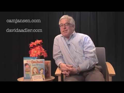 A conversation with David A. Adler, author of the Cam Jansen books
