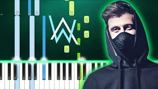 Alan Walker, K-391, Tungevaag, Mangoo - PLAY (Piano Tutorial) By MUSICHELP