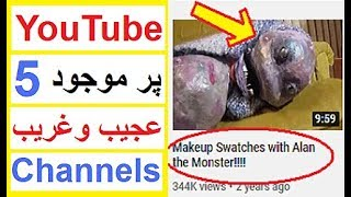5 YouTube Channels Which are Hard to Explain - Reality Tv