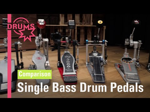 Single Bass Drum Pedals Comparison | Home Of Drums