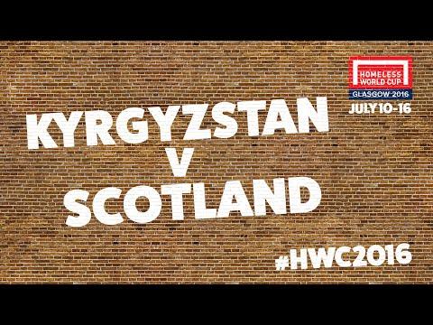 Scotland v Kyrgyzstan l Group B #HWC2016