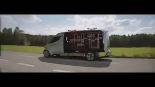 "Mercedes-Benz ""Vision Van"" Concept That Launches Delivery Drones"
