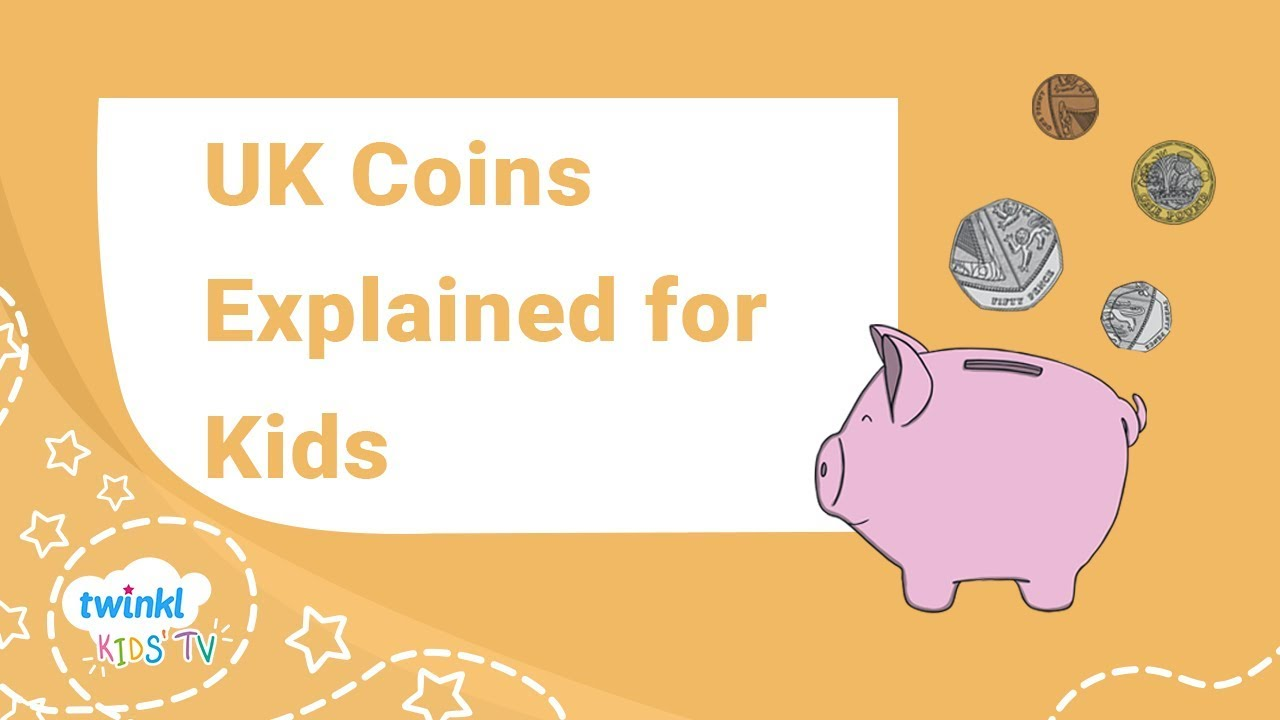 UK Coins Explained for Kids - Maths Money Learning Video