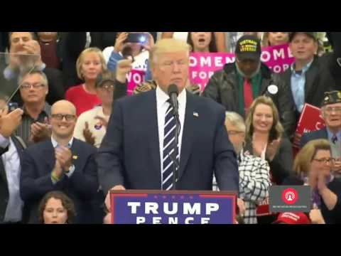Full Event: Donald Trump Rally in Bedford, New Hampshire 9/29/2016 Bedford NH Speech