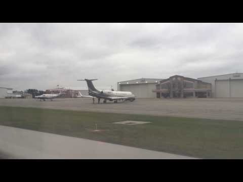 Quick Take Off From Akron Canton Airport CAK