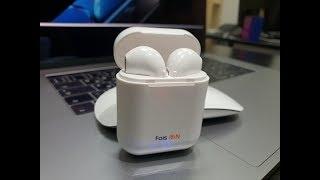 Огляд/Розпакування на Навушники Faison F10-MINI бездротові