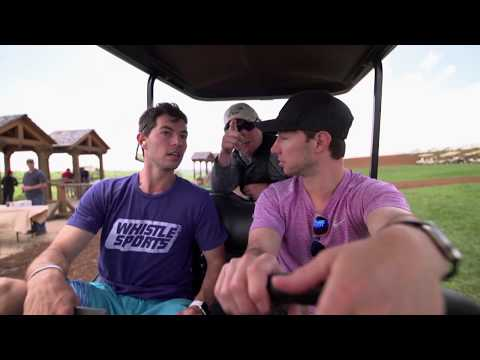 Dude Perfect's Cory vs Coby | Skeet Shooting with Allen Treadwell
