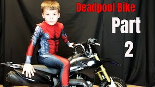 Deadpool Bike