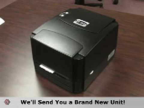 EZ-3844 - The Inexpensive Bar Code Label Printer