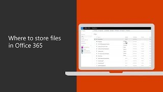 Where to store files in Office 365 for business