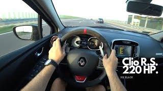 Renault Clio R.S. Trophy 220 HP | 4K POV Test Drive