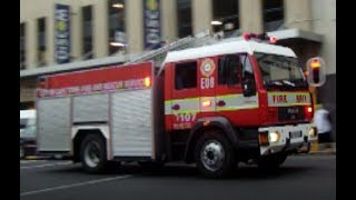 [SOUTH-AFRICA] Cape Town Fire and Rescue Service responding in downtown Cape Town