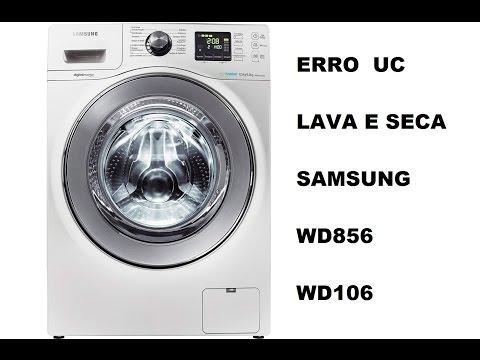 99 - ERRO UC LAVA E SECA SAMSUNG SOLUÇÃO // WHATS (11) 94116-1466