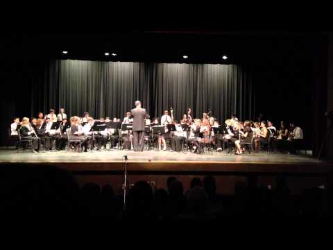 Evangeline: Two Cajun Songs - NCS Concert Band.MOV