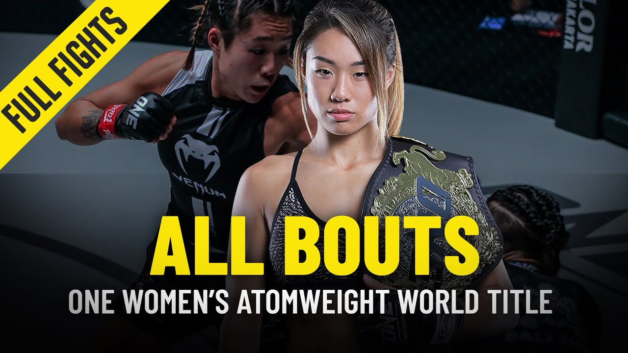 History Of The ONE Women's Atomweight World Title | ONE Full Fights