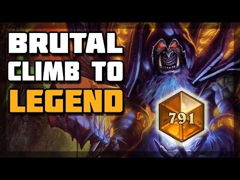 Hearthstone - Brutal Climb to Legend