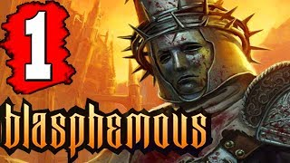 Blasphemous: Gameplay Walkthrough Part 1 Lets Play Playthrough PC PS4 Nintendo Switch Demo