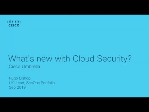 What's new with Cisco Umbrella?
