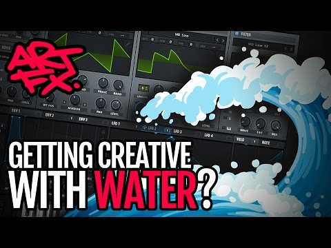 Getting creative with water in Serum