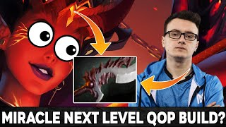 Miracle- back to mid?! Trying NEW Style on Queen of Pain: Abyssal Blade