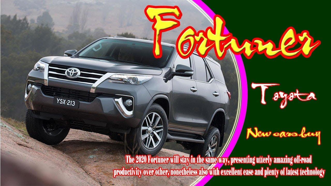 2020 Toyota Fortuner 2020 Toyota Fortuner Australia 2020 Toyota