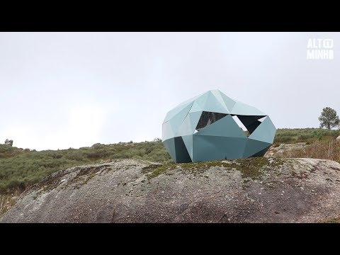 Miradouro dos Socalcos de Labrujó e Rendufe acolhe criação de André Banha | Altominho TV