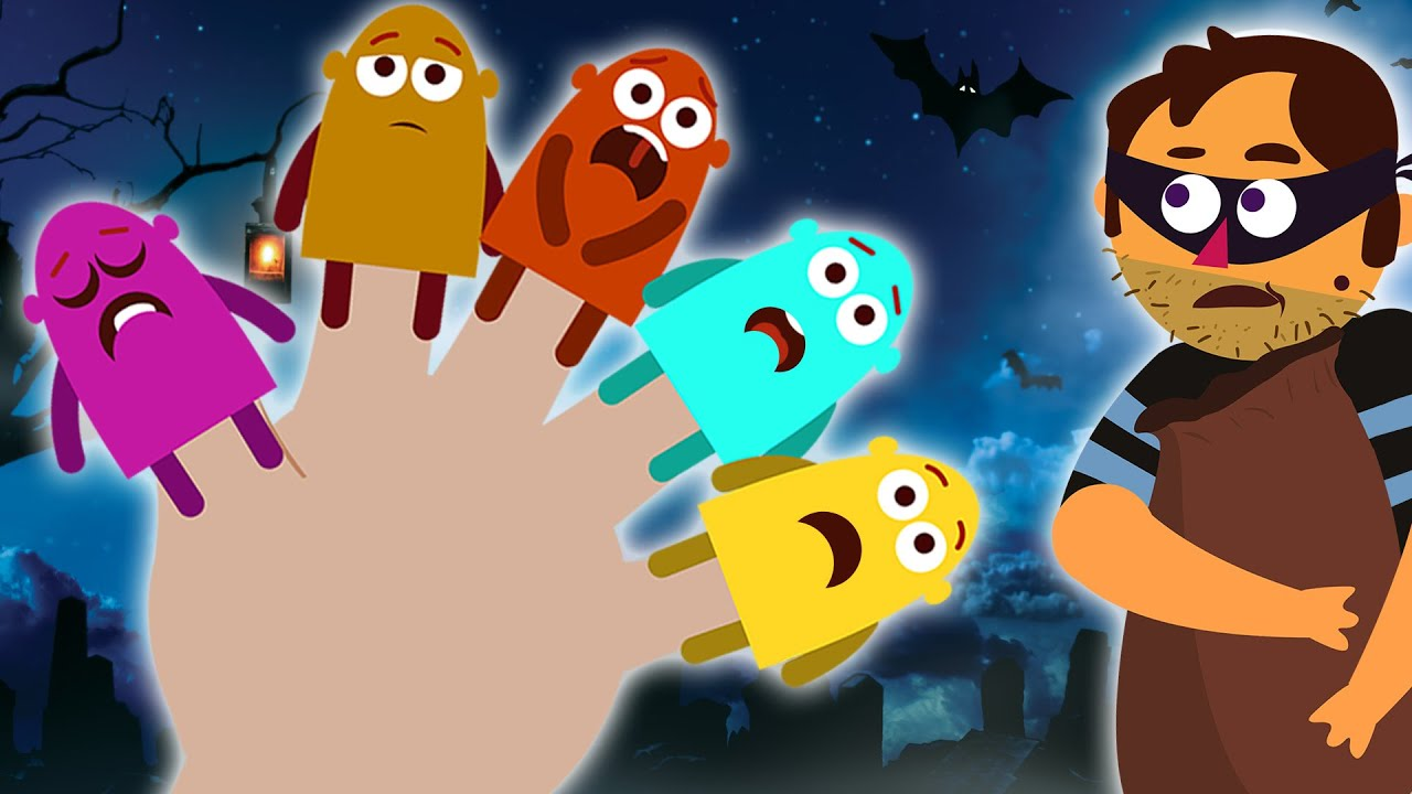 Halloween Songs | Finger Family | Spooky Nursery Rhymes And Kids Songs By Captain Discovery