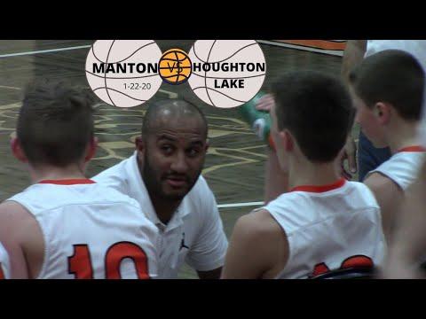 Manton VS Houghton Lake High School JV Boys Basketball 1-22-20