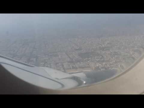 Landing in jiddah airport